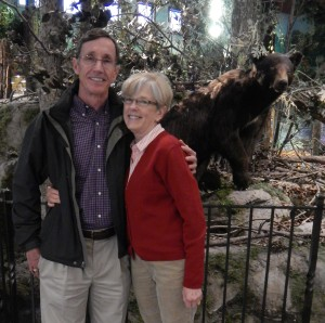My parents (& the bear). Married for 43 years. How cute are they?